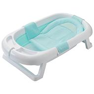 日康 RK-X1011-1 折叠浴盆 搭配浴网