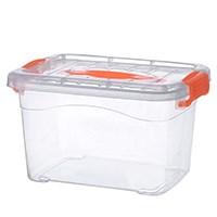 中号食品级透明收纳箱整理箱