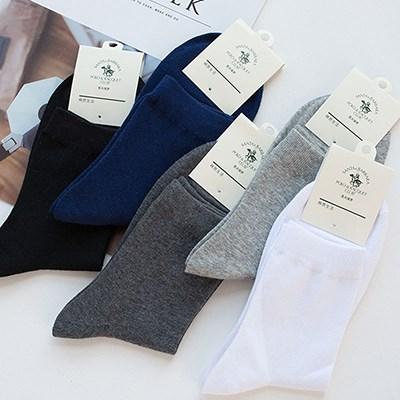 圣大保罗男士休闲商务袜5双