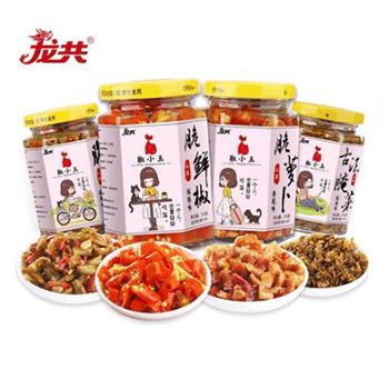 【4大瓶】脆爽下饭菜开胃菜