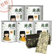 光庆 芝麻夹心海苔脆40g/罐