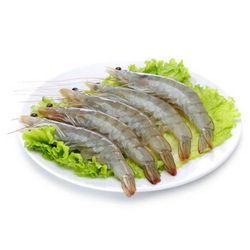 禧美海产 厄瓜多尔白虾 1.8kg