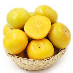 灵仙 应季山西脆柿子 2.5斤装