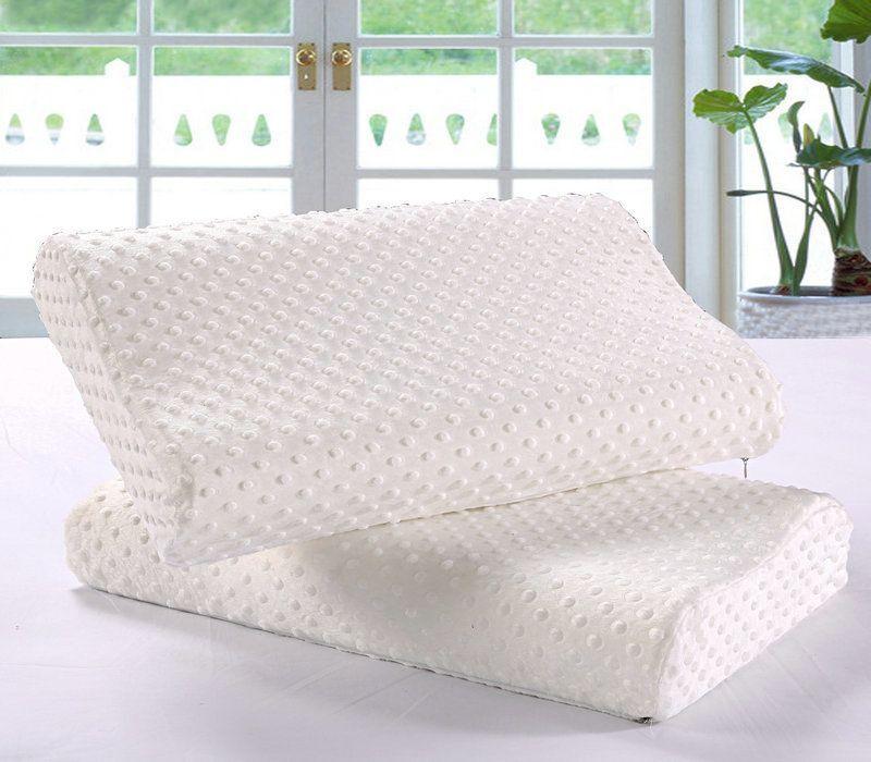 泰国进口乳胶护颈枕+枕套