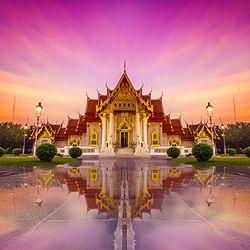 上海-泰国曼谷7天往返含税机票 双11预售979元起/人(含税+服务费)