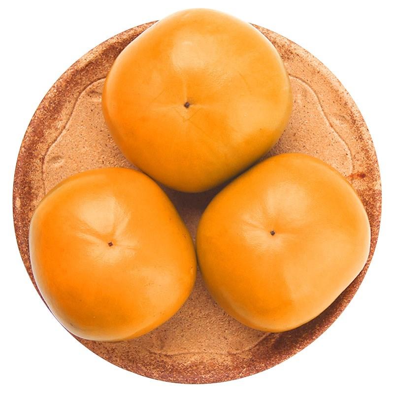 新鲜脆柿水果柿子5斤