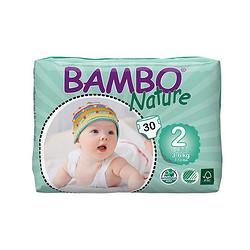 班博 婴儿透气纸尿裤 2号 30片