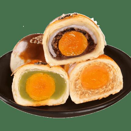知味观蛋黄酥咸鸭蛋黄2盒
