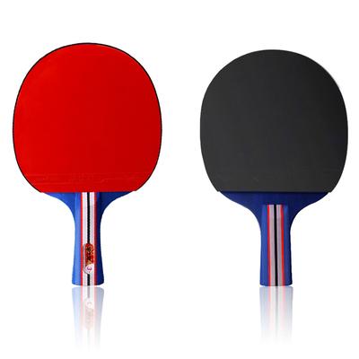乒乓球拍2支+三颗3星球+拍包