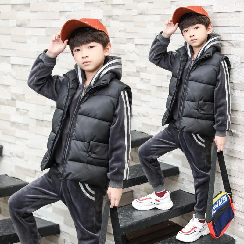 2018新款韩版童装三件套