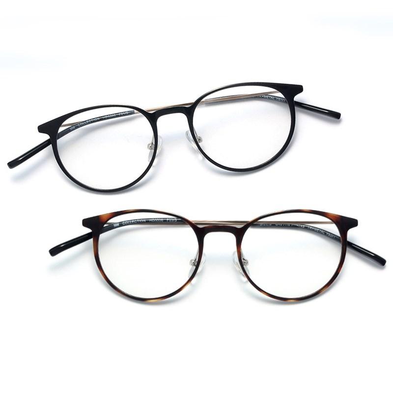HAN钛塑复古眼镜架+1.56非球面防蓝光镜片