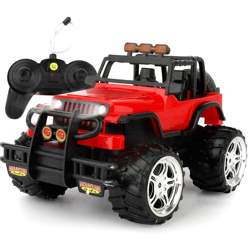 牧马人遥控充电儿童玩具越野车