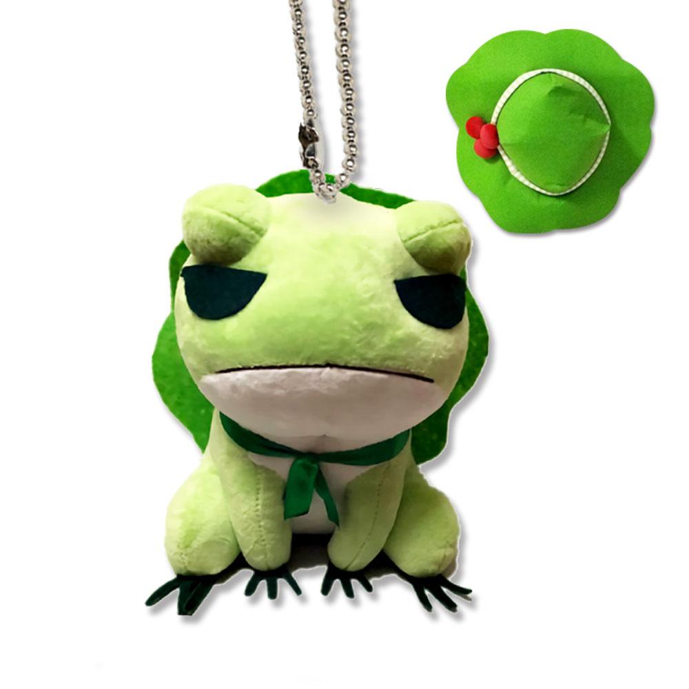 漫趣旅行青蛙周边毛绒玩具