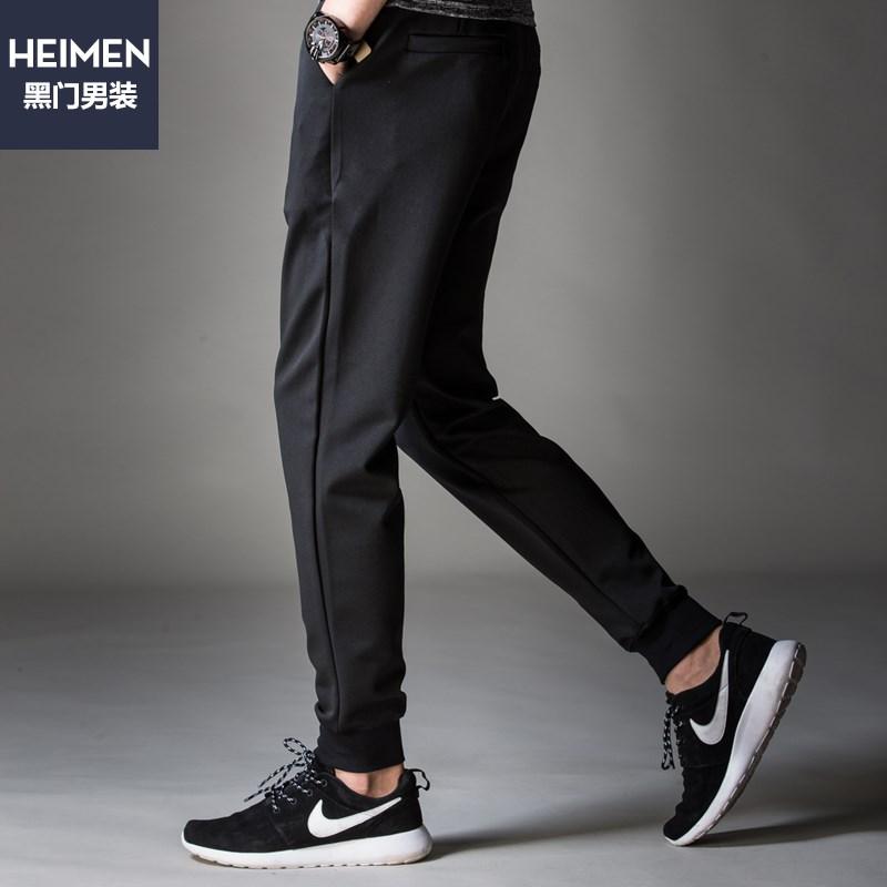 黑门阿迪达斯专柜同款休闲裤