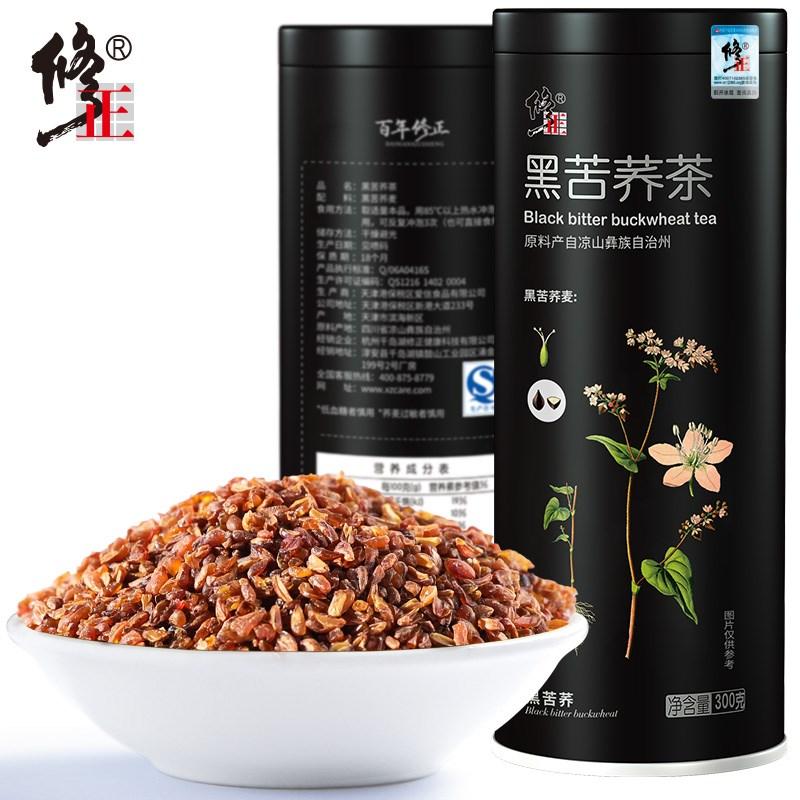 【修正】四川凉山黑苦荞茶300g