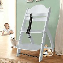 木巴 YZ137 实木可调节婴儿餐椅