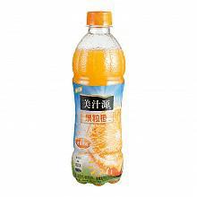 美汁源 果粒橙450ML*12瓶整箱装