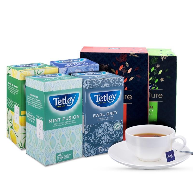 Tetley泰特莉缤纷6口味早餐茶