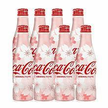 日本进口樱花可口可乐纪念版*8瓶