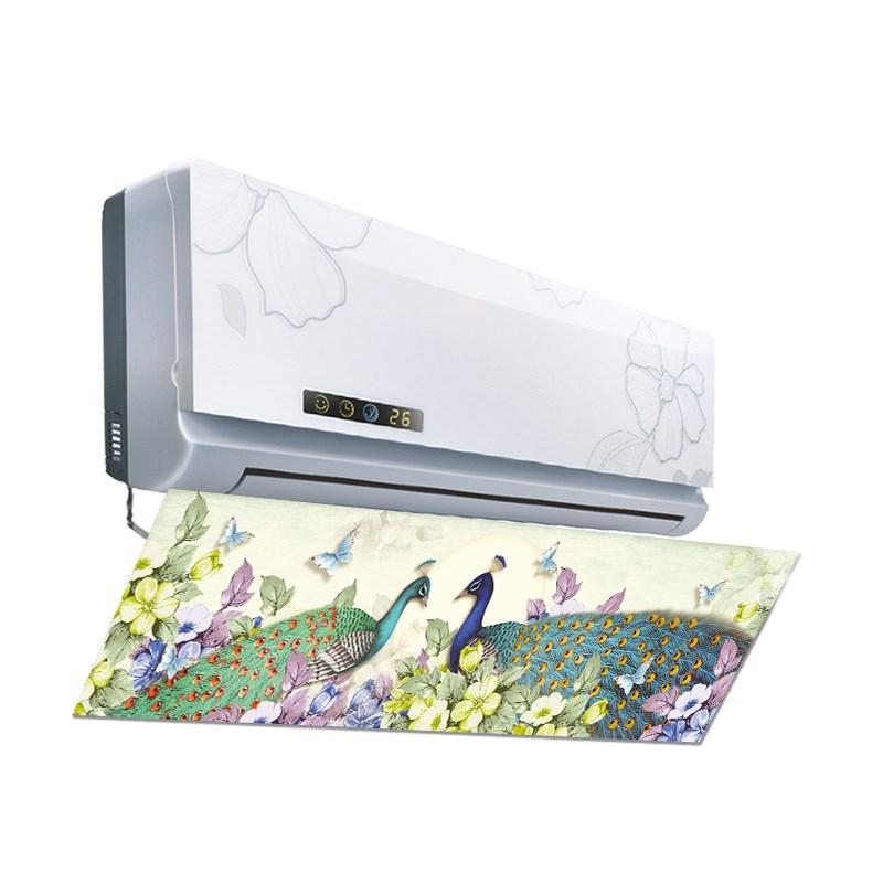 防直吹添加活性炭空调挡风板