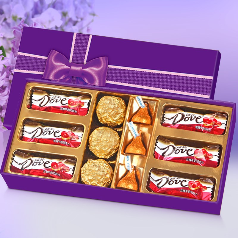 情人节巧克力礼盒装