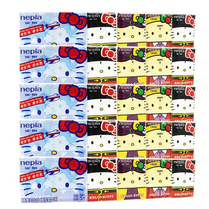 妮飘印花手帕纸面巾纸90包