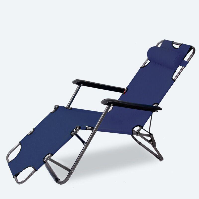 午睡神器:可折叠躺椅折叠床