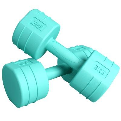 艾美仕家用健身器材包胶哑铃
