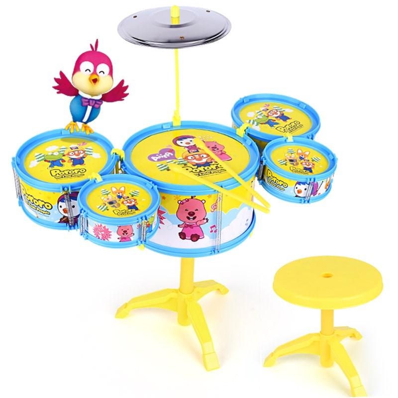 【啵乐乐】儿童初学益智架子鼓玩具