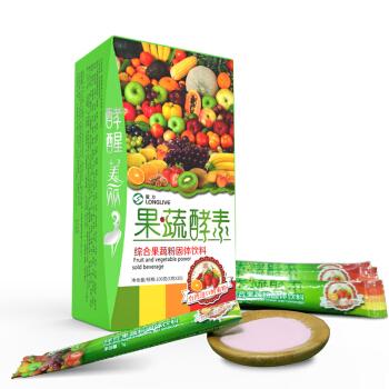 龙力酵素益生菌复合果蔬酵素粉