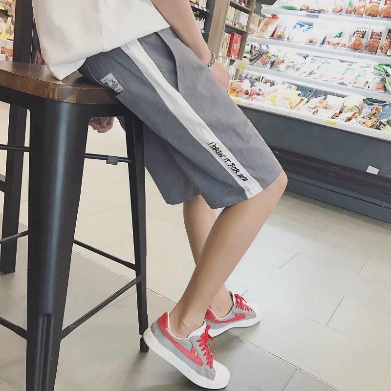 日系宽松弹力短裤