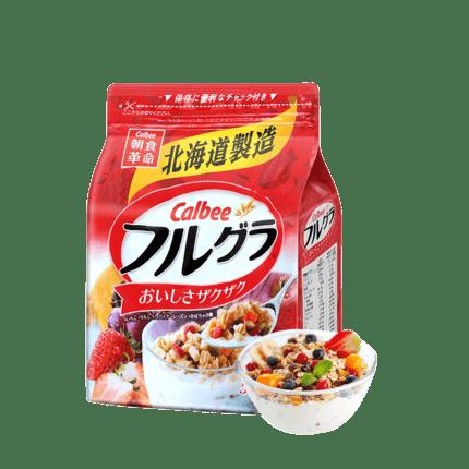卡乐比进口水果谷物燕麦片500g