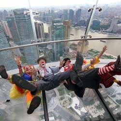 上海东方明珠267米旋转餐厅自助午/晚餐+门票