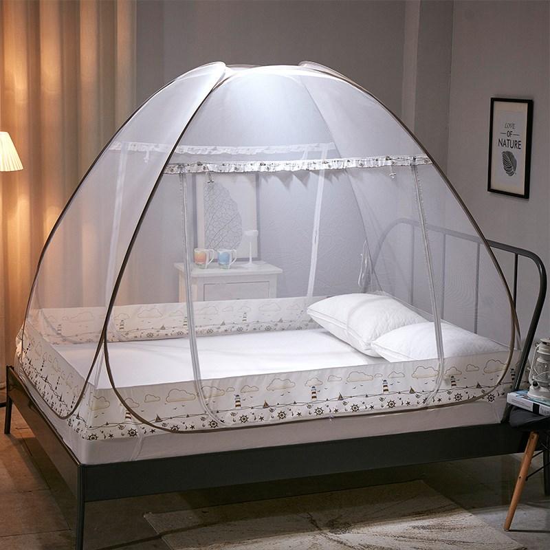 免安装蒙古包蚊帐