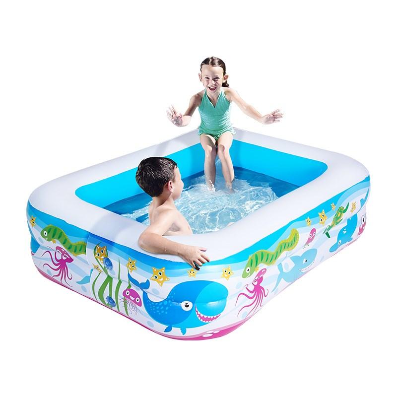 【Bestway】充气加厚泳池