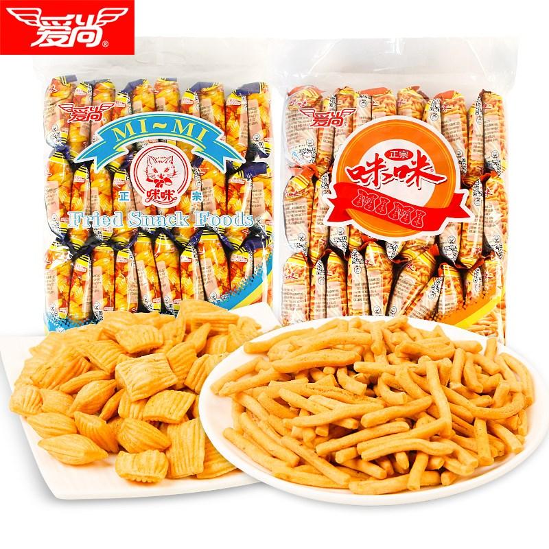 正宗咪咪虾条蟹味20包