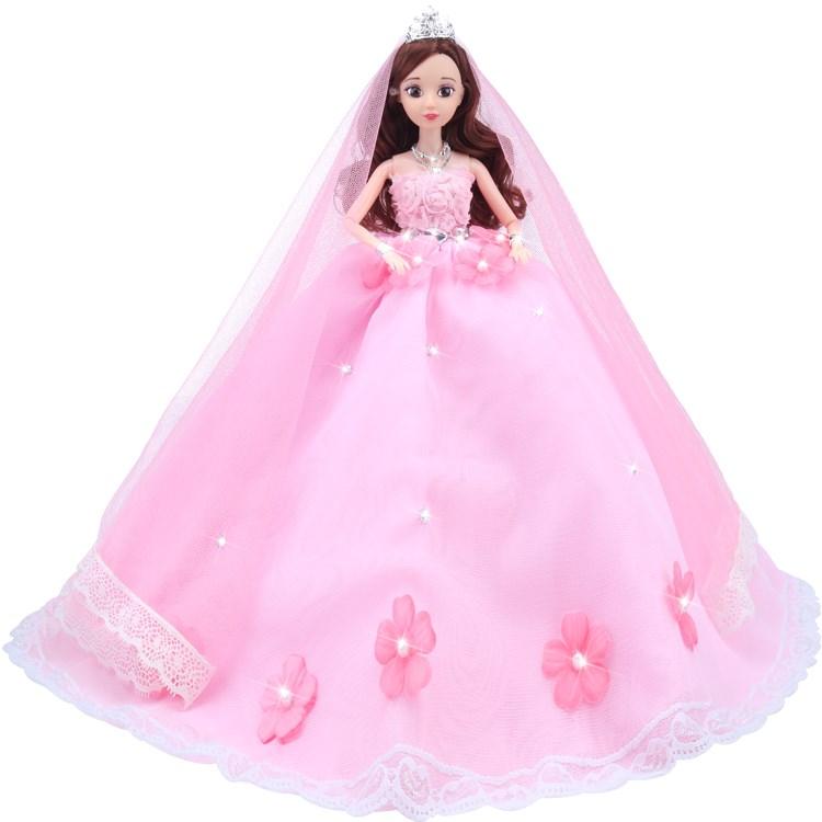 芭比娃娃婚纱套装多款可选