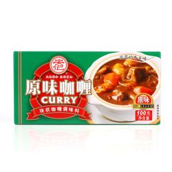 安记 原味咖喱 100g *5件
