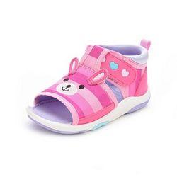 月星 女童机能凉鞋