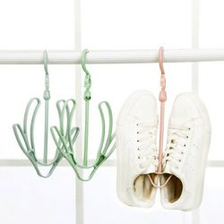 Quail 室外防风衣架鞋钩 3个装