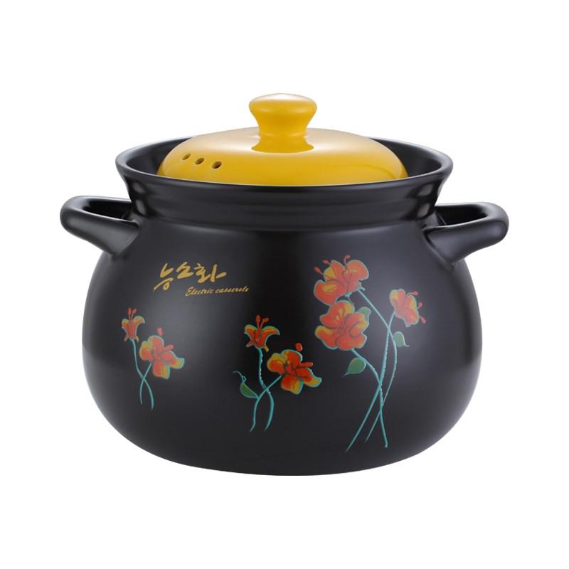 2L耐高温陶瓷炖汤锅+送硅胶防烫套