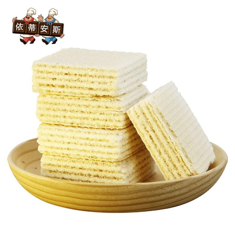 依蒂安斯豆乳夹心威化饼整箱1000g