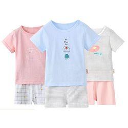俞兆林 男女童短袖套装 *2件