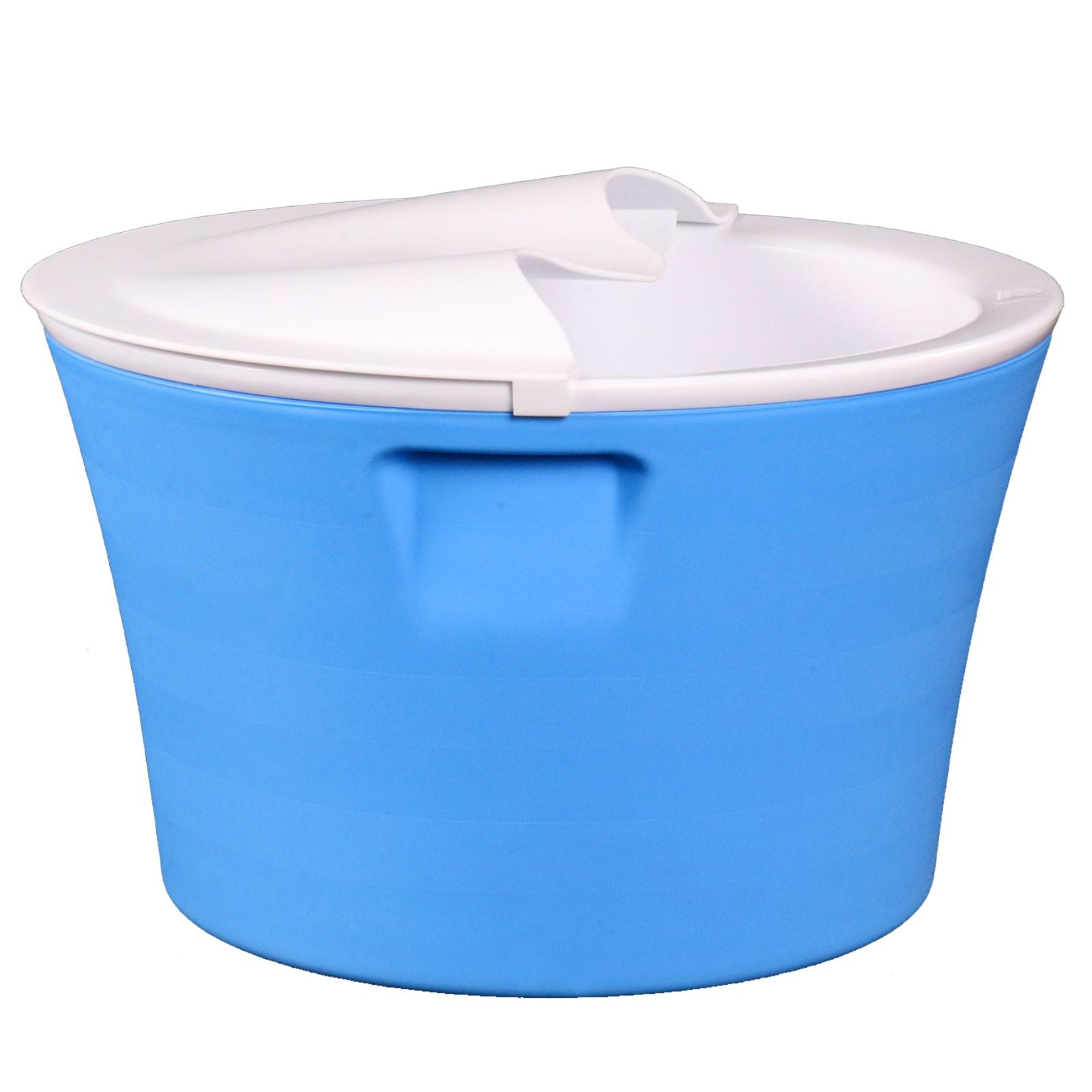恒温加厚保温养生泡脚桶