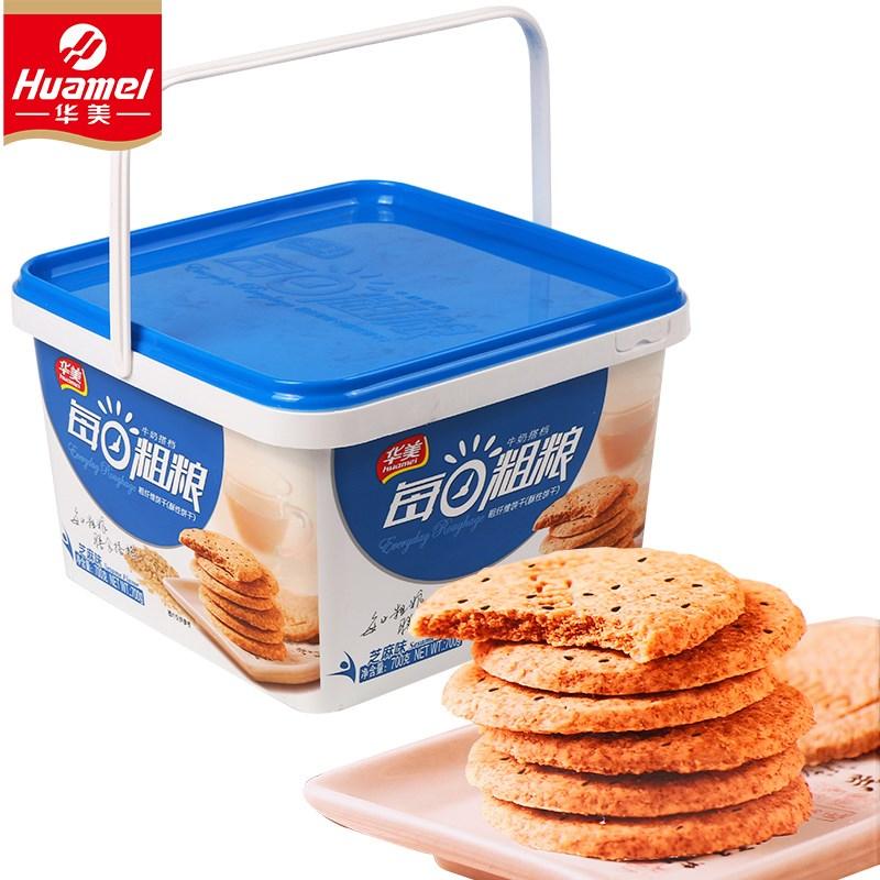 华美每日粗粮代餐饼干整箱装