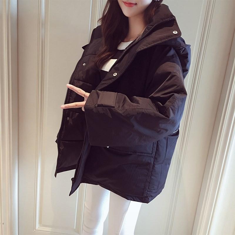 韩版小棉袄加厚ins面包服外套潮