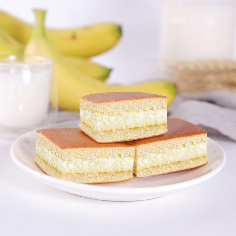 【百乐芬】香蕉牛奶蛋糕400g整箱