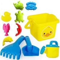 建雄儿童沙滩玩具11件套装
