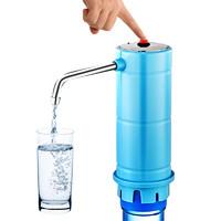 桶装水电动抽水器送软管+USB充电线