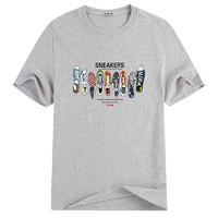 雅鹿 男士印花T恤 M-4XL码
